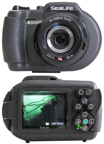 Scuba Diver Info Camera Review Sealife Dc1000